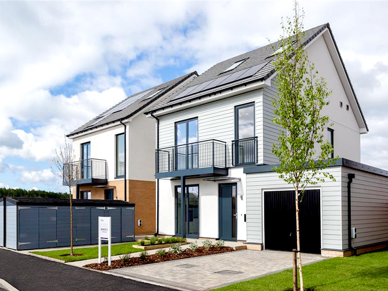 Installation of K Systems Render Cladding system and Hardie Plank Weatherboarding